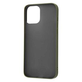 iPhone12ProMax ケース ハードケース マット 耐衝撃 ハイブリッド Sarafit カーキ・グリーン カバー アイホン スマホケース