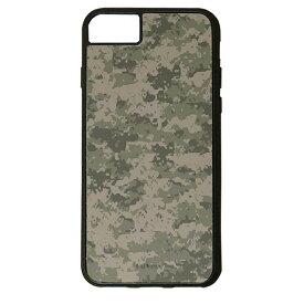 【楽天スーパーSALE】 iPhone 8Plus / 7Plus / 6sPlus / 6Plus ケース ハードケース CuVery くっつくケース 保護 カバー デジタル 迷彩 柄