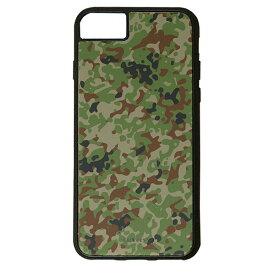 【楽天スーパーSALE】 iPhone 8Plus / 7Plus / 6sPlus / 6Plus ケース ハードケース CuVery くっつくケース 保護 カバー 迷彩 柄 陸上 自衛隊