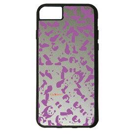 【楽天スーパーSALE】 iPhone 8Plus / 7Plus / 6sPlus / 6Plus ケース ハードケース CuVery くっつくケース 保護 カバー パンダ panda 迷彩 パープル