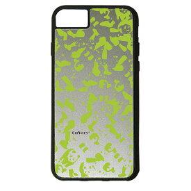 【楽天スーパーSALE】 iPhone 8Plus / 7Plus / 6sPlus / 6Plus ケース ハードケース CuVery くっつくケース 保護 カバー パンダ panda 迷彩 ライト グリーン