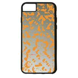 【楽天スーパーSALE】 iPhone 8Plus / 7Plus / 6sPlus / 6Plus ケース ハードケース CuVery くっつくケース 保護 カバー パンダ panda 迷彩 オレンジ
