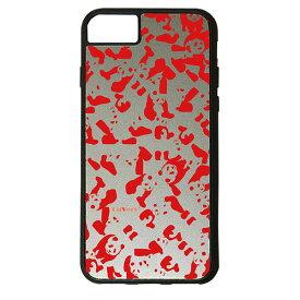 【楽天スーパーSALE】 iPhone 8Plus / 7Plus / 6sPlus / 6Plus ケース ハードケース CuVery くっつくケース 保護 カバー パンダ panda 迷彩 レッド 赤