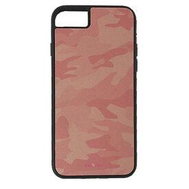 【楽天スーパーSALE】 iPhone 8Plus / 7Plus / 6sPlus / 6Plus ケース ハードケース CuVery くっつくケース 保護 カバー 迷彩 ウッドランド ピンク