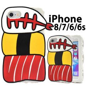 iPhone SE 2020 SE2 第2世代 iPhone8 iPhone7 ケース ソフトケース お寿司シリコン カバー アイフォンケース スマホケース