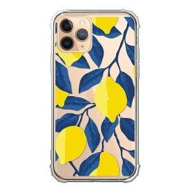 iPhone SE 第2世代 SE2 iPhone 11 11Pro 11ProMax XSMax XR XS X 8 8Plus 7 7Plus ケース ソフトケース クリア レモン ボタニカル 北欧柄 イラスト 可愛い カバー アイフォン スマホケース