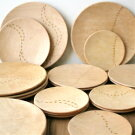 【定形外郵便対応可能商品】わにもっこ木製プレート森のあしあとM木製プレートウッドプレート皿食器ギフト贈り物プレゼント