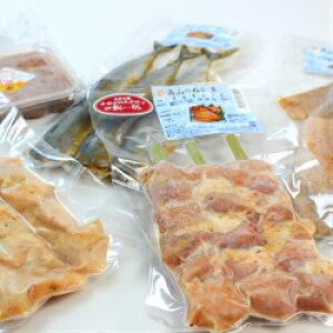 【送料込み】高山食品 さんまぬか漬、いかぬか漬、串鶏肉ぬか漬、串桃豚ぬか漬、いか塩辛 各1個  産地直送