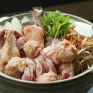 【送料込み】青森シャモロック 地鶏鍋セット(4人前) 産地直送