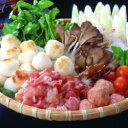 【送料無料】秋田比内や 比内地鶏 だまこ鍋セット(3〜4人前)比内地鶏モツ入(希少なきんかん入)産地直送