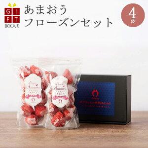 ギフト 冷凍完熟あまおう イチゴ フローズン 800g(200g×4袋) 苺 福岡県産 産地直送 プレゼント