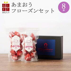 ギフト 冷凍完熟あまおう イチゴ フローズン 800g(200g×8袋) 苺 福岡県産 産地直送 プレゼント