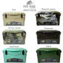 ICE AGE cooler (アイスエイジ) クーラーボックス 45QT 42.6L / ILC045 2〜3人向けクーラーBOX 充実のオプション 高性…