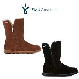 EMU (エミュー) Australia waterproof 通販 gravelly グラベリー シープスキンミッドムートンブーツ 23cm/24cm/25cm/ w11561 雪雨対応 防水 インソール交換可能 セレクト雑貨ムー