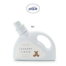 gelato pique ジェラートピケ 通販 洗剤 750ml pwls209008 ジェラピケ コスメ 新パッケージ ギフトにおすすめ フローラルの香り お子様の服にも安心 セレクト雑貨ムー
