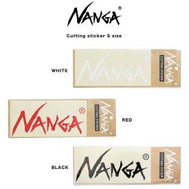 NANGA ナンガ 通販 NANGA CUTTING STICKER (SMALL)カッティングステッカー(小) アウトドア キャンプ 車用ステッカー ギフトにおすすめ セレクト雑貨ムー