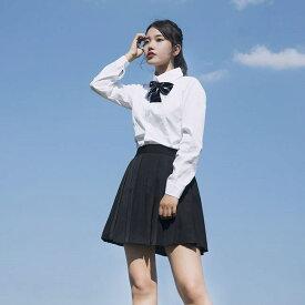 半袖 長袖 セーラー服 学生服コスチューム 女子高生 制服 ホワイト 上下セット 3点セット コスプレ セーラー服 ミニスカート  シャツ ブラウス  コスチューム コスプレ衣装cos コスS/M/L/XL/2XL/3XL/4XL/5XL サイズ 大きい サイズ