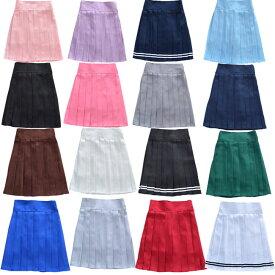 大きいサイズあり プリーツスカート ミニ フレアー 入学式 卒業式 無地 ホワイト ブラック スカート 女子高生 スカート/スーツ プリーツスカート 制服スカート 小学校学生服 無地 ミニスカ コスチューム 女子高生 制服  スカート セーラー コスプレ S/M/L/XL/2XL