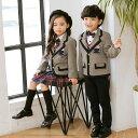 子供 入学式 スーツ キッズ 卒業式 男の子 女の子 制服 上下セット フォーマル 学生服 学生服 セーラー ミニスカート …