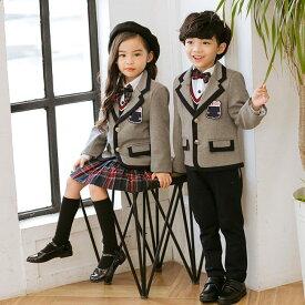 4040f743595ee 子供 入学式 スーツ キッズ 卒業式 男の子 女の子 制服 上下セット フォーマル 学生服 学生