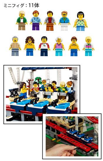 新作legoクリエイターレゴクリエイターエキスパートローラーコースター#10261RollerCoaster4124ピース2018レゴジェットコースターレゴパーツレゴミニフィグレゴブロックLEGOレゴ作り方