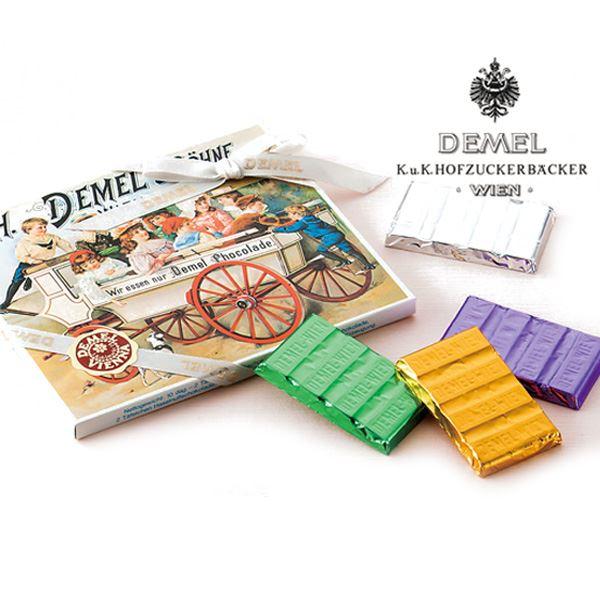 【クール便必須】 DEMEL(デメル) ソリッドチョコ詰合せ チョコレート 春夏 ギフト