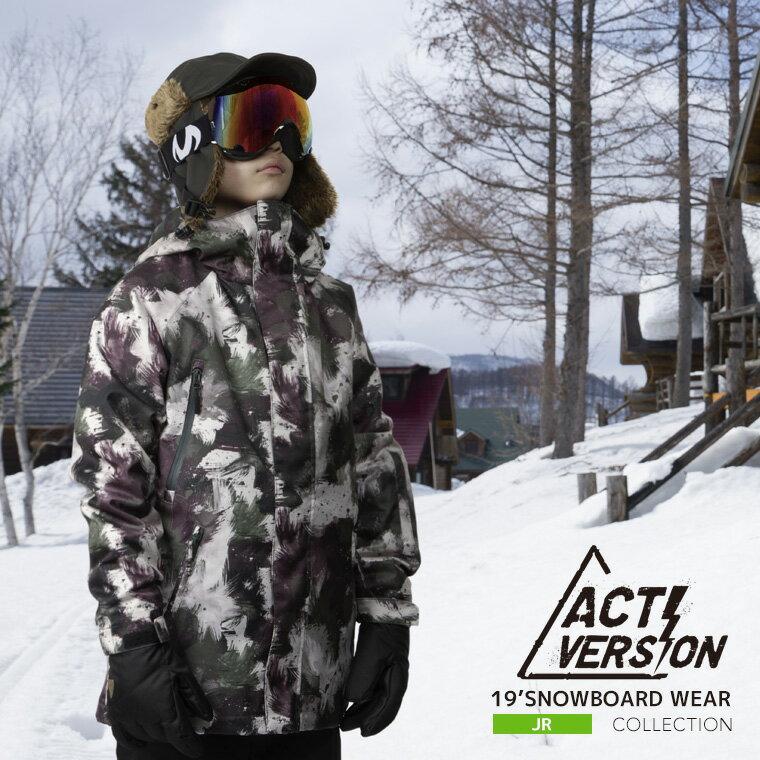 スノーボードウェア 2018-2019新作 ジュニア 上下セット スノボウェア スノーボードウェア 子供用 即納  スノーボード スノボ ウェア スキーウェア スノボーウェア ウエア ジャケット パンツ 上下セット ACTI スノボ ウェア 激安 ジュニア