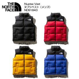 [THE NORTH FACE/ザ ノースフェイス]Nuptse Vest ヌプシベスト(メンズ)ND91843