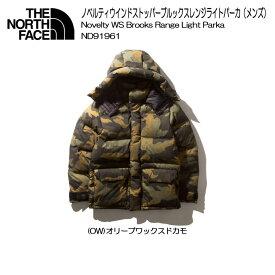 [THE NORTH FACE/ザ ノースフェイス]Novelty WS Brooks Range Light Parka ノベルティウインドストッパーブルックスレンジライトパーカ(メンズ)ND91961
