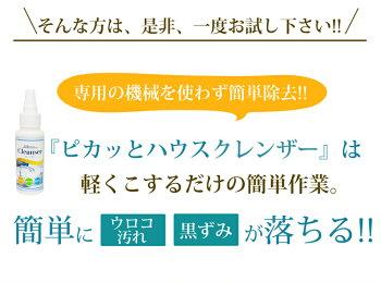 【あす楽】ピカッとハウスミラーコーティングセット【クレンザー80g+鏡コーティング30ml】
