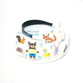 交換フィルム「クマ12」ヘッドセットマスク用 ハイタイプ(鼻まで覆うサイズ)(マスク本体は別売りです)1枚入りパッケージ