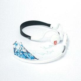 漢字交換フィルム「富士山」・ヘッドセットマスク用標準サイズ(マスク本体は別売りです)1枚入りパッケージ