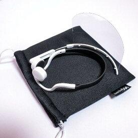 ヘッドセットマスク専用 保管ケース(メーカー公認)コットン+ポリウレタンでクッション性があります。メーカー公認のロゴ入りケース。食事中や休憩中、クルマの中やカバンにしまう際にとっても便利です。透明マスク クリアマスク マウスガード マウスシールド 保管 ケース