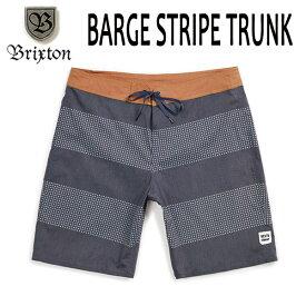 BRIXTON,ブリクストン/19SP/ボードショーツ・サーフトランクス・水着/BARGE STRIPE TRUNK/NAVY/OFF WHITE・ネイビー×オフホワイト/メンズ/ボーダー【あす楽 対応】