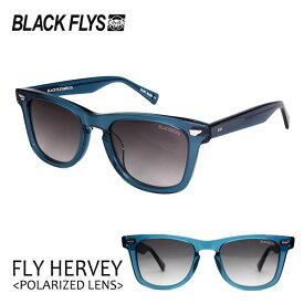 BLACKFLYS,ブラックフライ/20/FLY HARVEY Polarizedレンズ,フライハーヴェイ 偏光レンズ/BF-1237-06/CLEAR BLUE/GREY GR POL/サングラス/ユニセックス/ウェリントン 【あす楽 対応】
