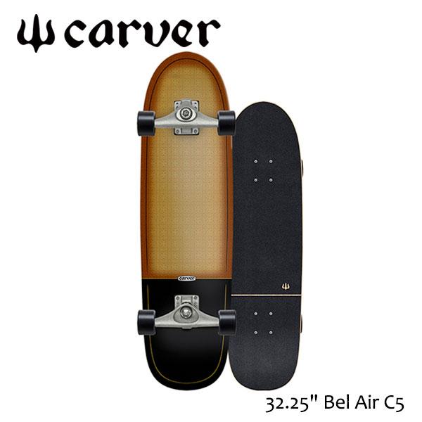 "CARVER SKATEBOARD,カーバースケートボード/32.25""Bel Air/C5 TRACK/サーフスケート/サーフィン/サーフトレーニング/コンプリート 【あす楽 対応】"