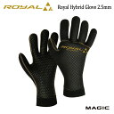 MAGIC,マジックROYALシリーズ・AG TITAN 105使用/2.5mm ROYAL HYBRID GLOVE/ウォーターブロック/グローブ/20-21...