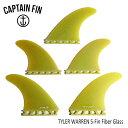 CAPTAIN FIN・キャプテンフィン/5FIN/タイラーウォーレン /TYLER WARREN 5-FIN・CFF4411832/YELLOW/SINGLE...