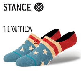 STANCE SOCKS・スタンス/SOCKS・靴下・ソックス/2017年SUMMER/SUPER INVISIBLE・THE FOURTH LOW/NAT・ナチュラル/L-XL(25-30cm) 【あす楽 対応】
