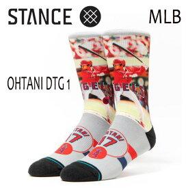 STANCE・スタンス/SOCKS・靴下・ソックス/18FA/OHTANI DTG1/GRY・グレー/L(25.5-29cm)/メンズ/大谷翔平/エンゼルス/限定/打者/バッター/野球