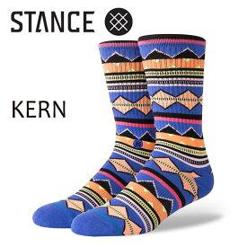 STANCE・スタンス/SOCKS・靴下・ソックス/18HO/THE CLASSIC CREW・KERN/MUL・マルチカラー/L(25-29cm)/ボーダー