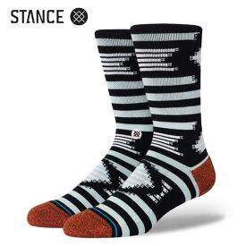 STANCE・スタンス/SOCKS・靴下・ソックス/20FA/THE CLASSIC CREW・SORIA/BLU・ブルー/Lサイズ(25.5-29cm)/INFIKNIT/メンズ