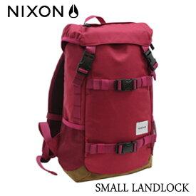 NIXON,ニクソン/JAPAN LIMITEDモデル/BACKPACK・バックパック・リュックサック/SMALL LANDLOCK/16L/NC22562329-00/DARK CHERRY・ダークチェリー 【あす楽 対応】10P03Dec16