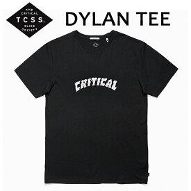 TCSS,ティーシーエスエス/17HO/ S/S TEE,半袖Tシャツ/DYLAN TEE・SWT1714/PHANTOM・ブラック/S・Mサイズ/メンズ 【あす楽 対応】