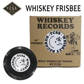 TCSS,ティーシーエスエス/フライングディスク・フリスビー/WHISKEY RECORDS FRISBEE/WST1701/BLACK・ブラック/ビーチアイテム 【あす楽 対応】