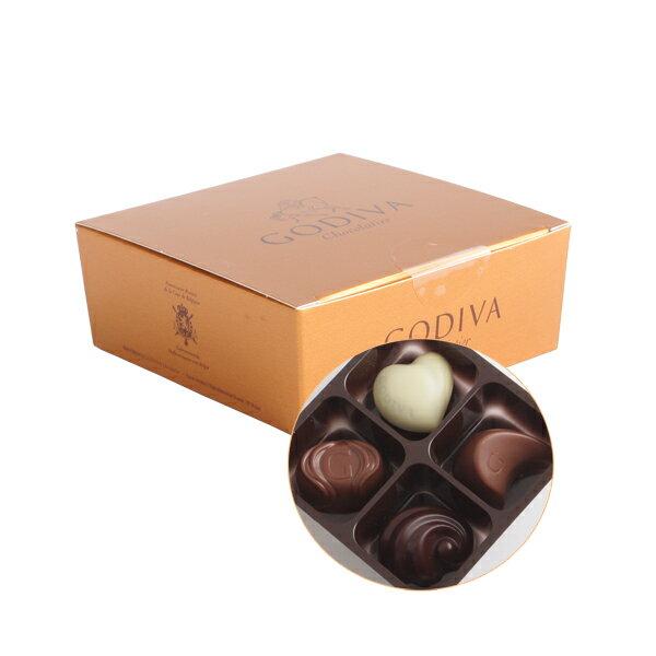 【新春セール】GODIVA ゴディバ チョコレート コフレゴールド 4粒入り / ギフト プチギフト バレンタイン ホワイトデー プレゼント お試し 洋菓子 詰合せ 詰め合わせ