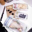 【ゆうパケットなら4セットまで送料230円】Kikkerland キッカーランド ジッパーバッグ 選べる5サイズ Zipper Bags / …