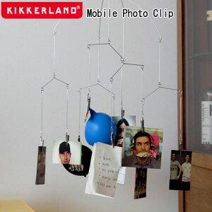 Kikkerland キッカーランド Mobile Photo Clip モービルフォトクリップ 1872 / モービル クリップ 写真 ポストカード おしゃれ おもしろ雑貨 ユニーク雑貨 面白グッズ ディスプレイ インテリア【あす