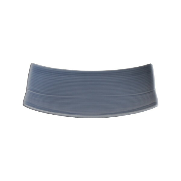 白山陶器 長方皿 小 16cm×12.5cm ブルー / 波佐見焼
