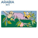 \★マラソン連動セール★/Arabia アラビア ムーミンデコツリー ヘムレン 89×189mm / Moomin Deco Tree Hemulen 壁掛け用...
